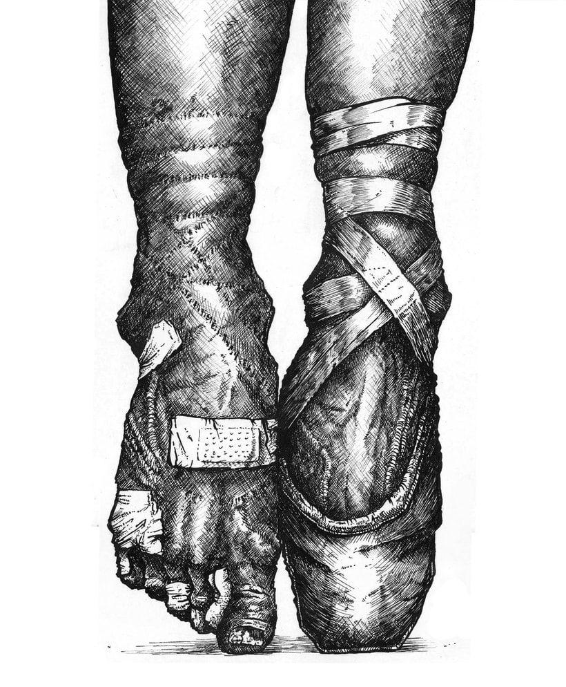 Tinta seria - Ilustraciones a tinta 6