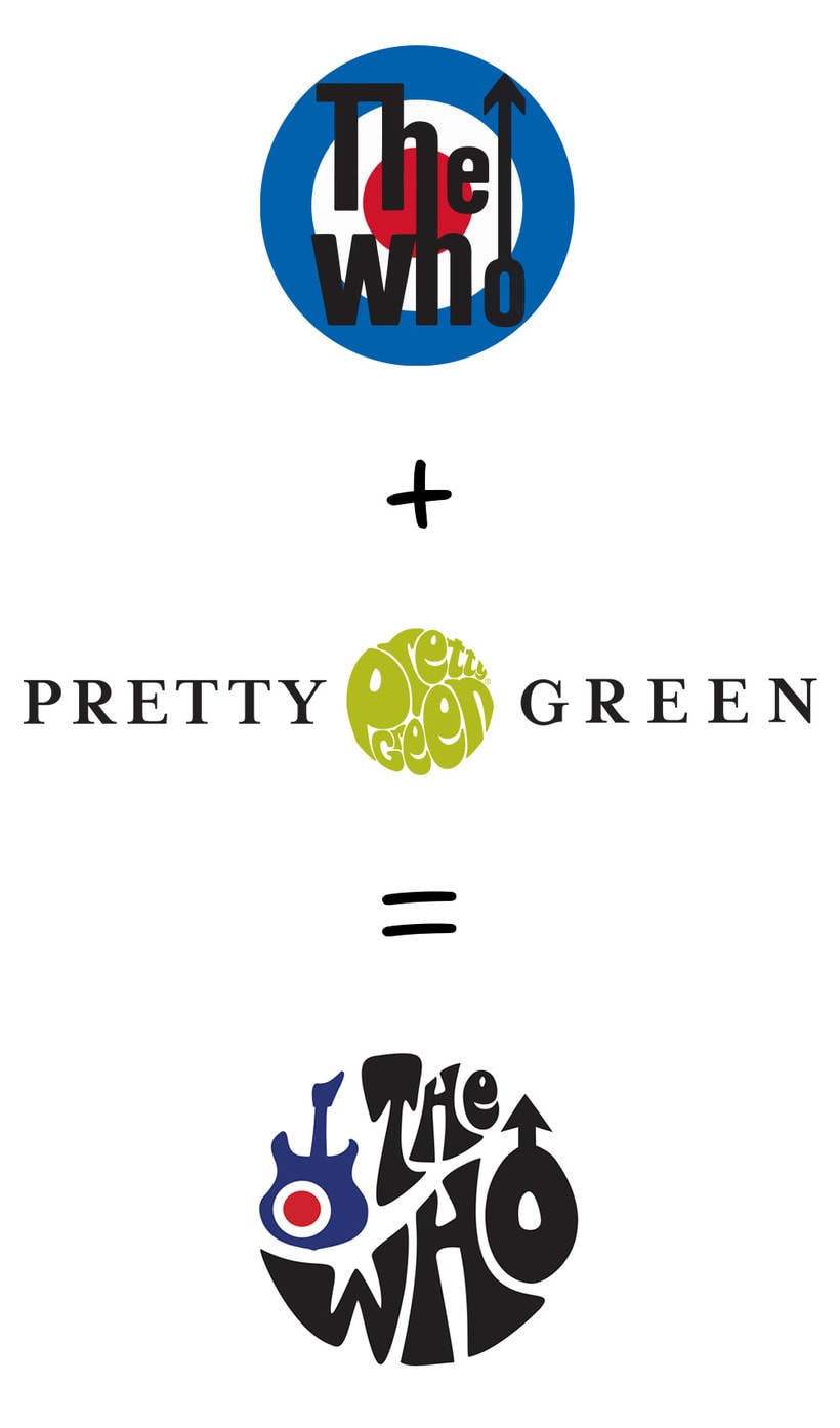 Diseño de camiseta para The Who y Pretty Green en colaboración con Talenthouse 0