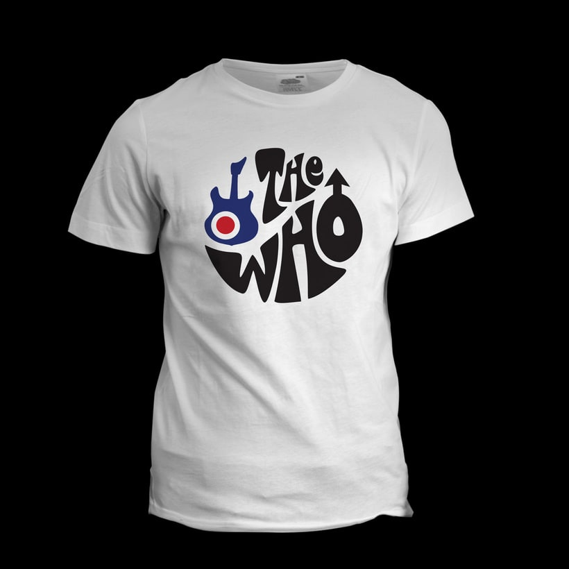 Diseño de camiseta para The Who y Pretty Green en colaboración con Talenthouse 2