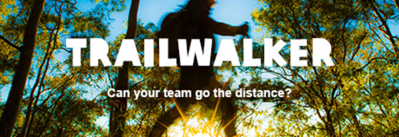 Banners Oxfam International: Trailwalker y Unwrapped 8
