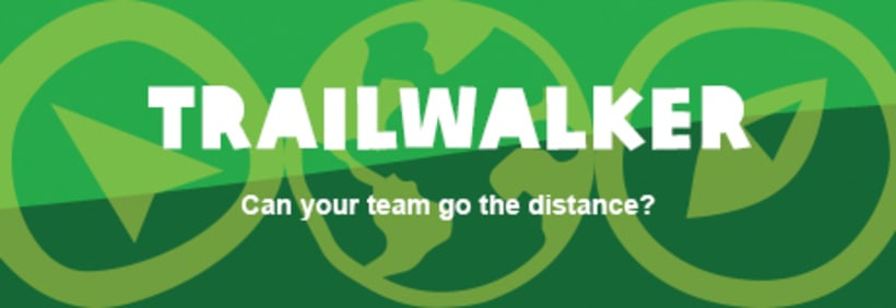 Banners Oxfam International: Trailwalker y Unwrapped 9