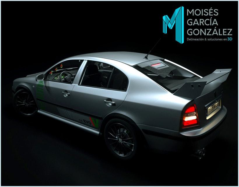 coches y viviendas 3D de Moisés 1