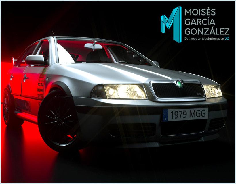 coches y viviendas 3D de Moisés 2