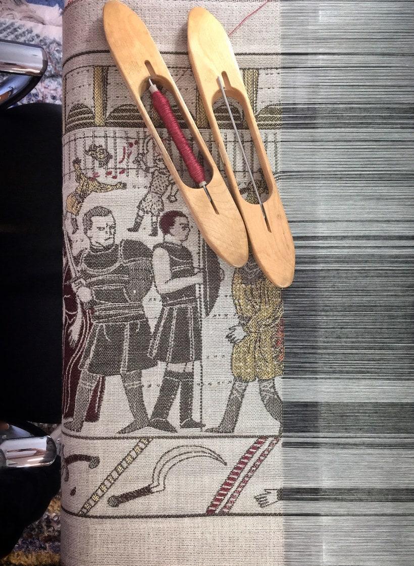 Un tapiz bordado con escenas épicas de Juego de Tronos 6