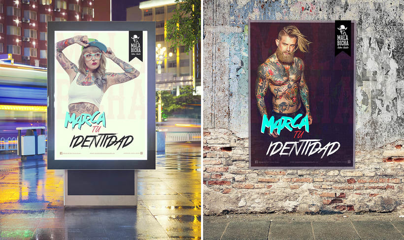 Campaña Publicitaria_MALA BICHA Tattoo Studio 1