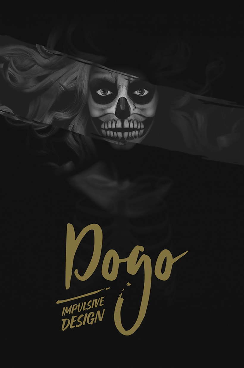 Diseño de logotipo, imagen corporativa, papelería corporativa, tarjetas de visita y mockups de DOGO Impulsive Design 2