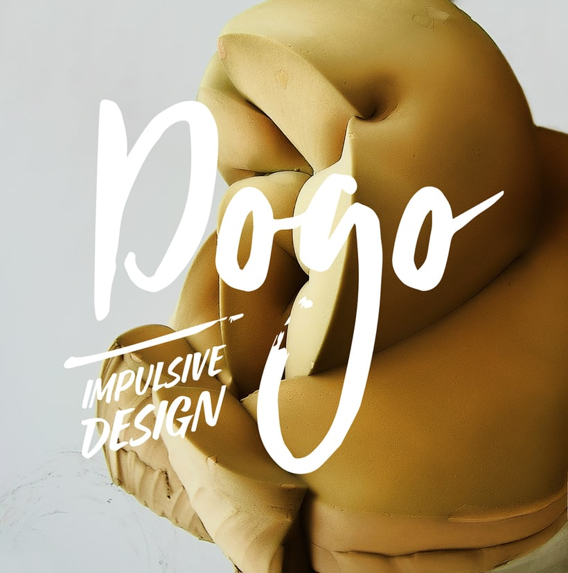 Diseño de logotipo, imagen corporativa, papelería corporativa, tarjetas de visita y mockups de DOGO Impulsive Design 3