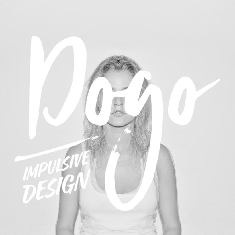 Diseño de logotipo, imagen corporativa, papelería corporativa, tarjetas de visita y mockups de DOGO Impulsive Design 4