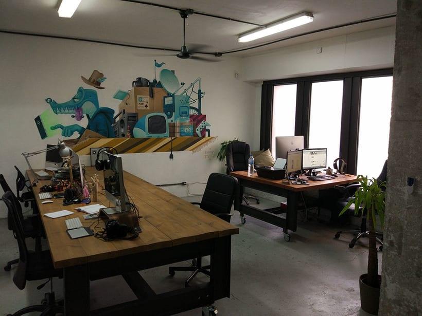 Buscamos Freelance/Equipo para Coworking en Barcelona (Poble Sec) 1