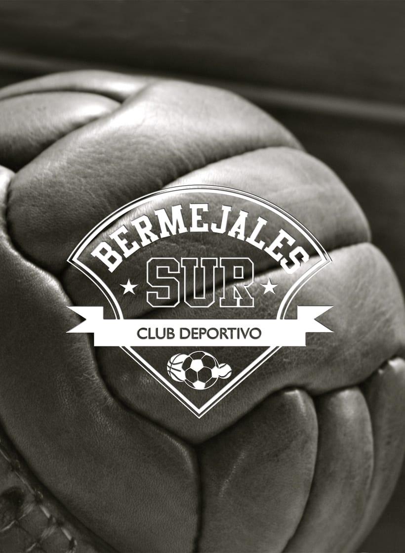 Diseño de logotipo, imagen corporativa y mockups_BERMEJALES SUR C.D. 2