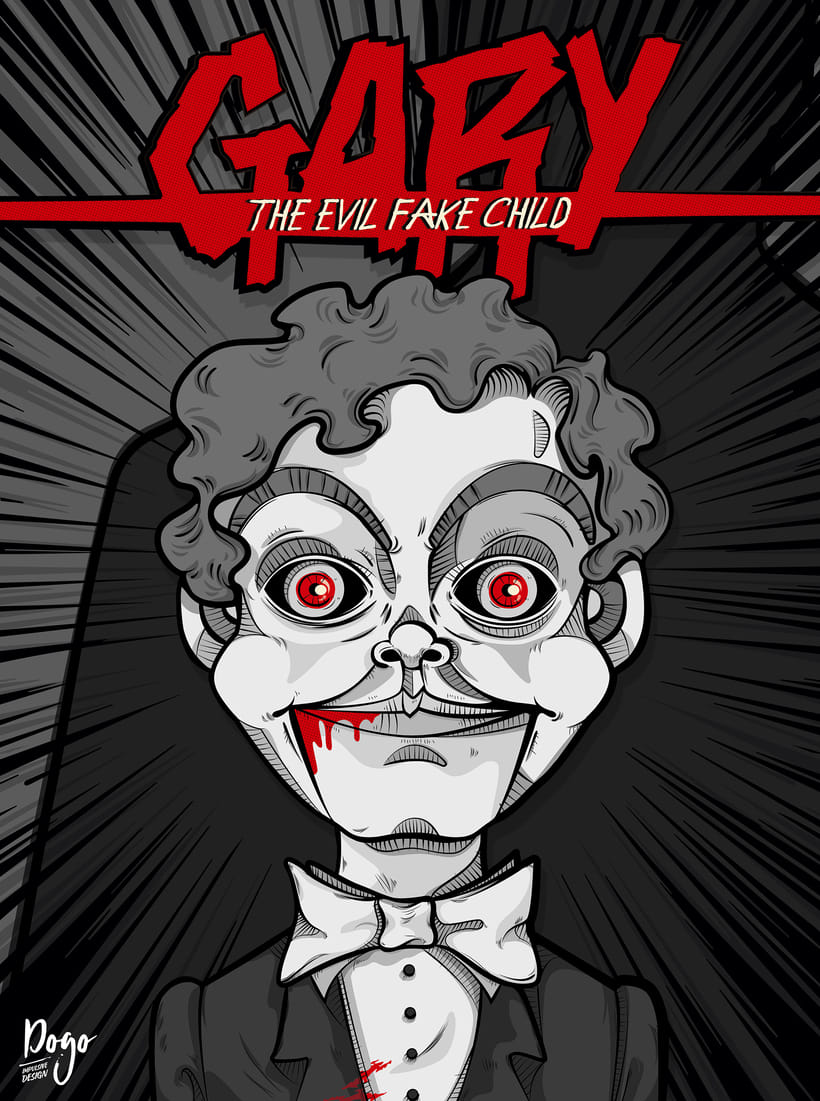 Ilustración: GARY, the evil fake child -1