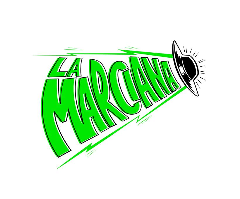 Diseño logotipo y naming: LA MARCIANA cerveza -1