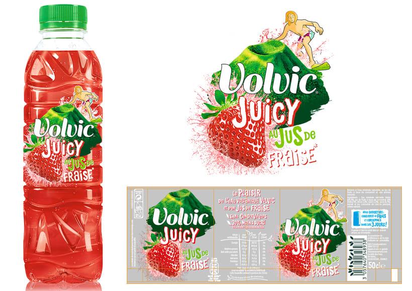Propuesta Diseño Etiquetas - Volvic 0