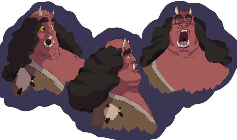 Oni Characters 0