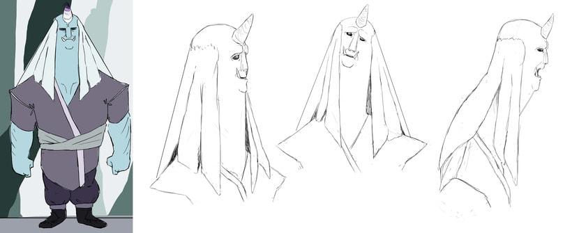 Oni Characters 3
