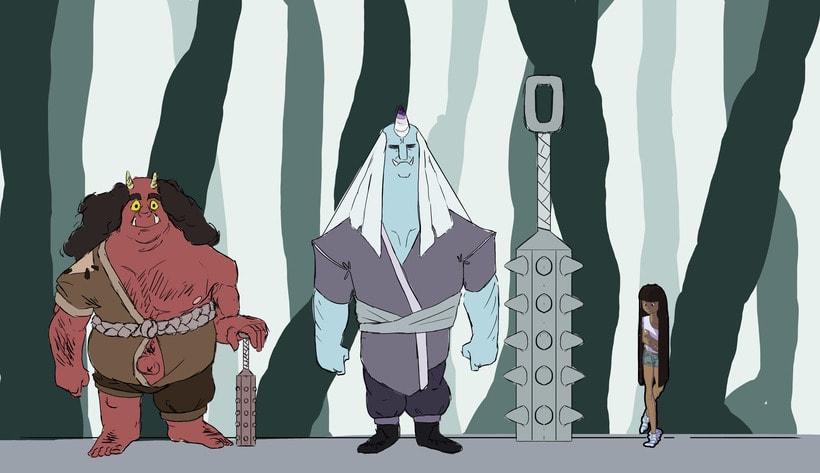 Oni Characters 5