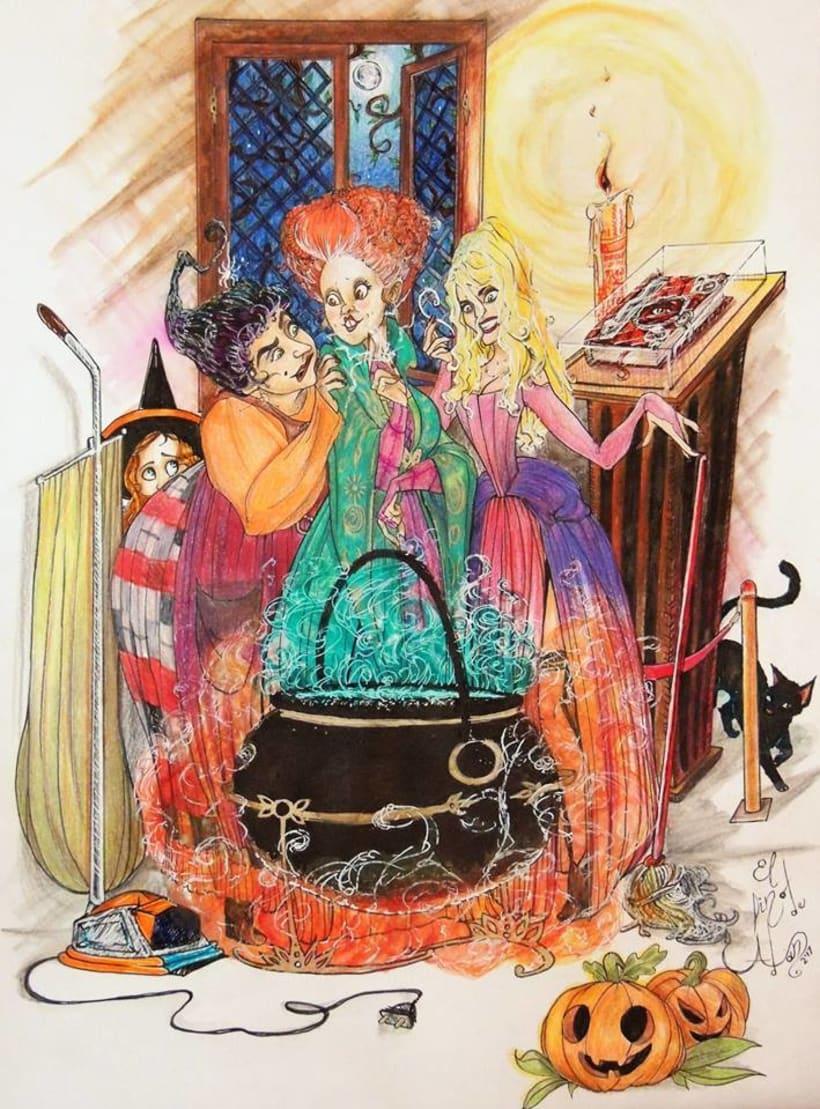 hocus pocus (el retorno de las brujas) -1