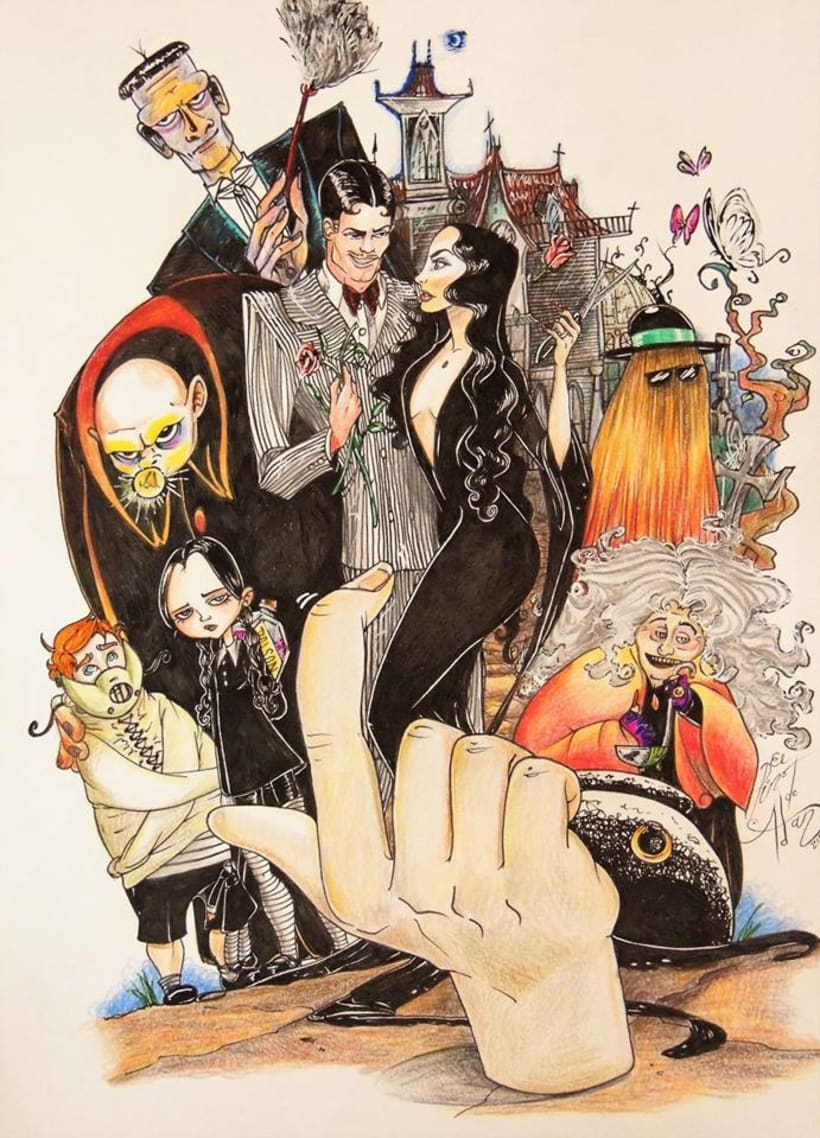 the adams family  -1