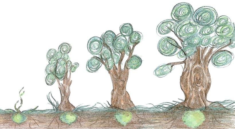 """""""De semilla a árbol"""" -1"""