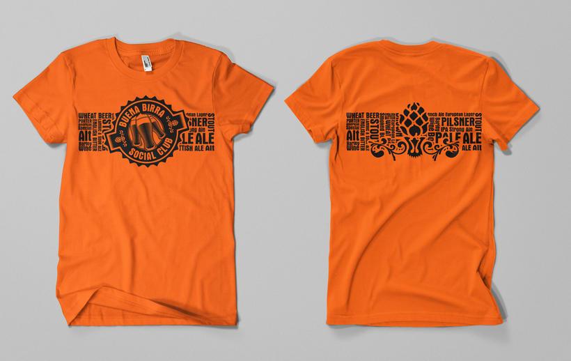 Print T-shirt designs - Diseños de estampa para remera -  4