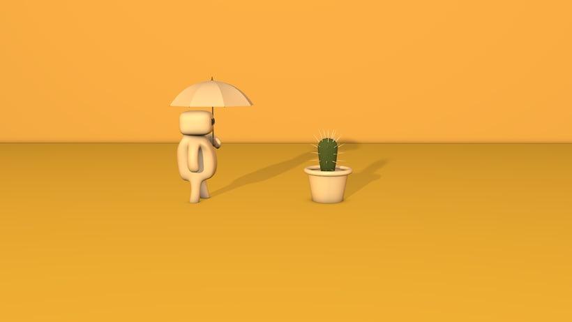 Corto animación 3D sobre el verano. 0