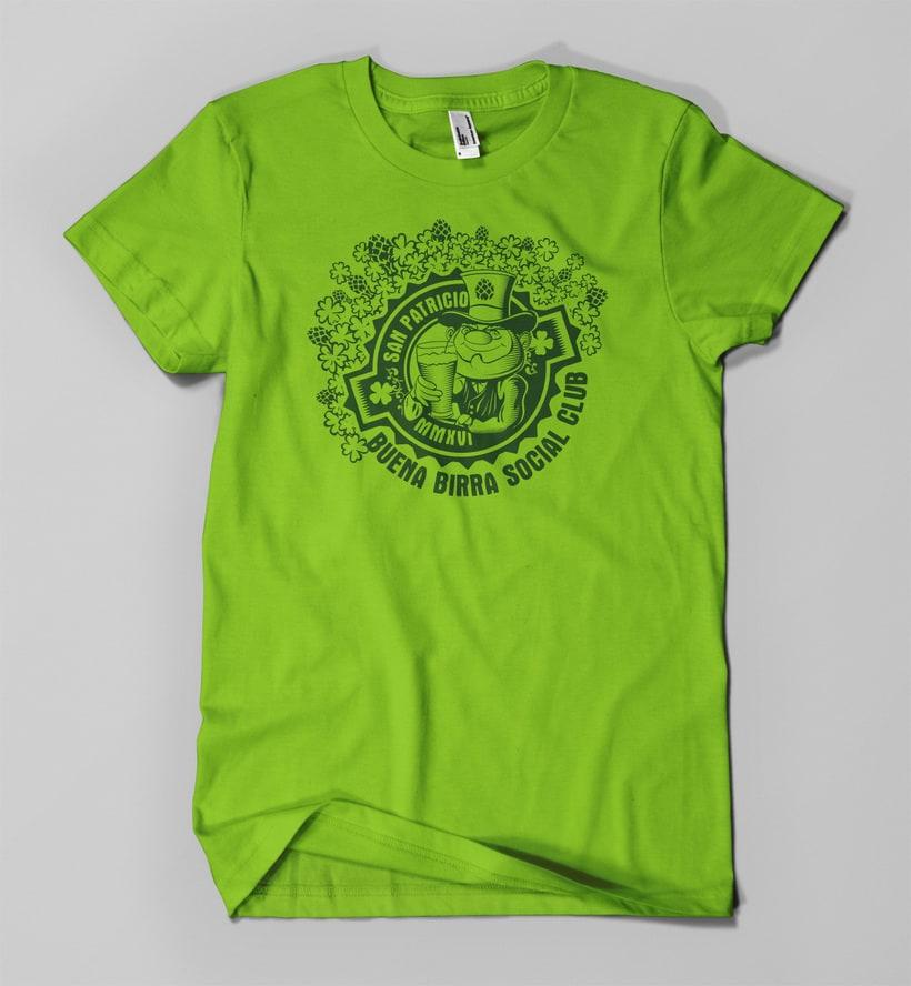 Print T-shirt designs - Diseños de estampa para remera -  2