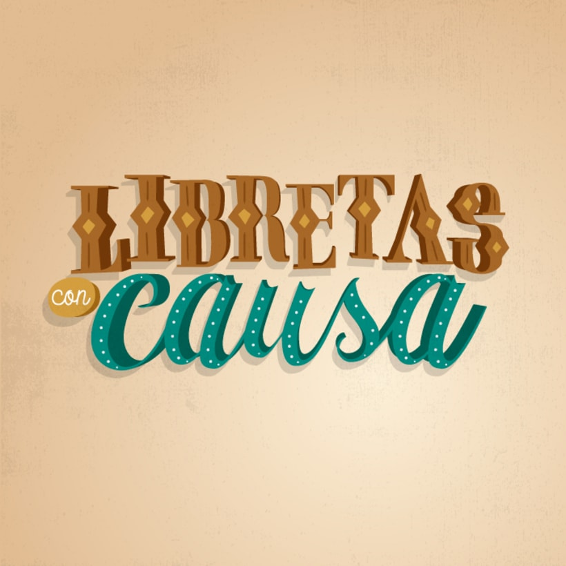 Libretas con Causa [Lettering] -1