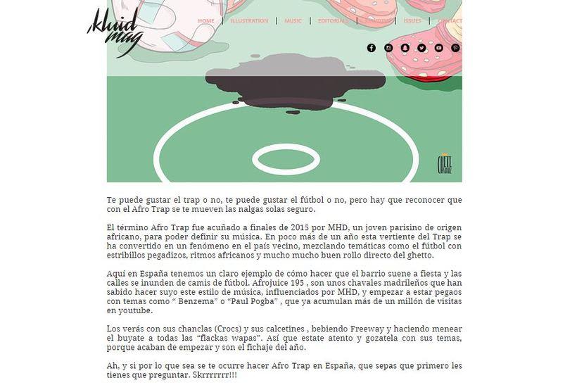 Chete´s Corner II , para Kluid Magazine. -1