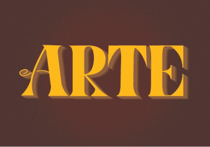 Mi Proyecto del curso: Los secretos dorados del lettering -1