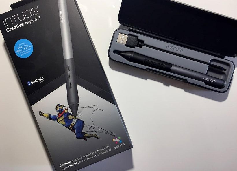 Vendo lápiz WACOM Intuos Creative Stylus 2 NUEVO!!! Exclusivo iPad!!! 39€ 1