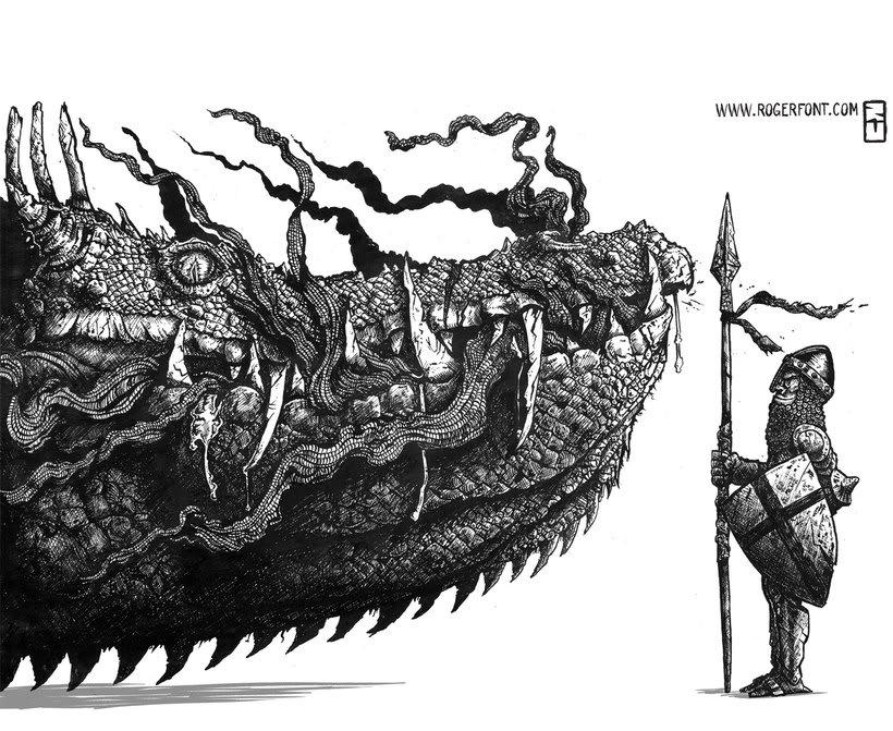 Tinta crítica - Ilustraciones a tinta 0