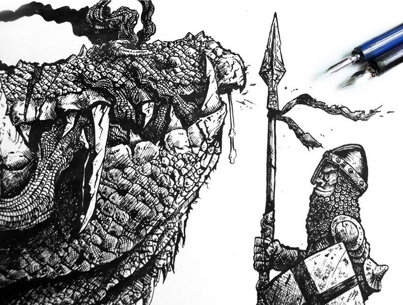 Tinta crítica - Ilustraciones a tinta 1