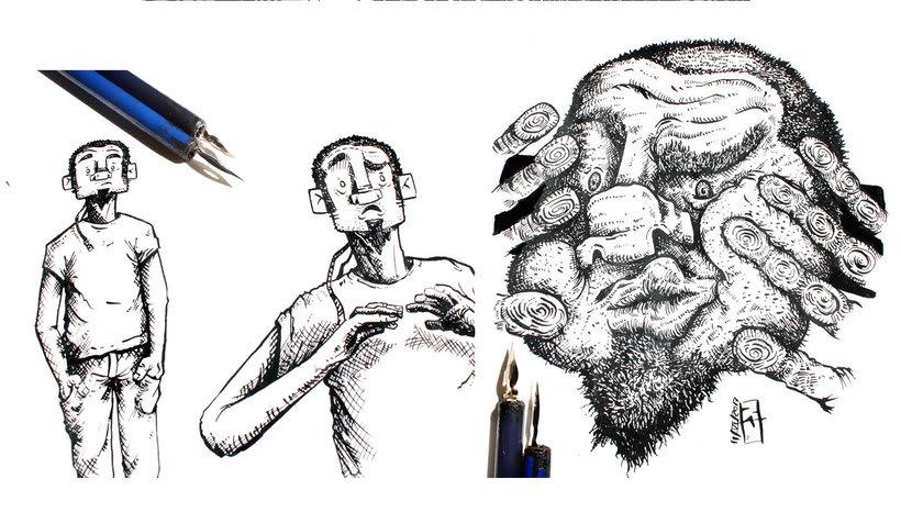 Tinta crítica - Ilustraciones a tinta 5