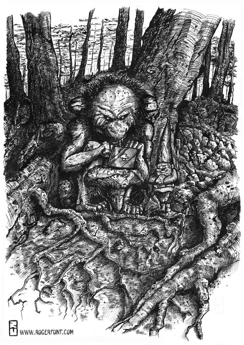 Tinta crítica - Ilustraciones a tinta 7
