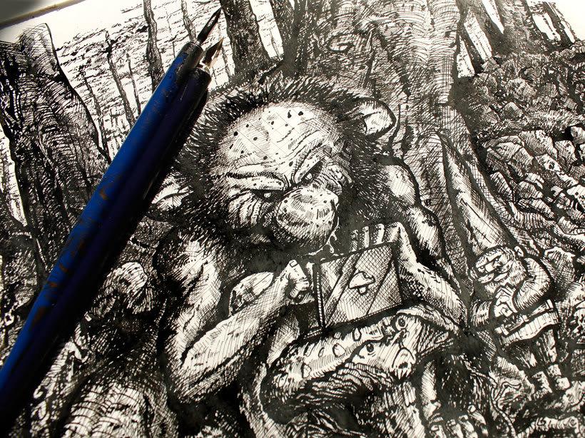 Tinta crítica - Ilustraciones a tinta 8