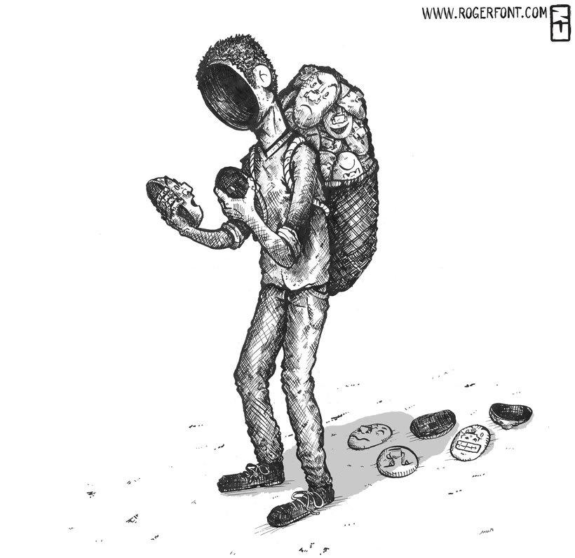 Tinta crítica - Ilustraciones a tinta 9