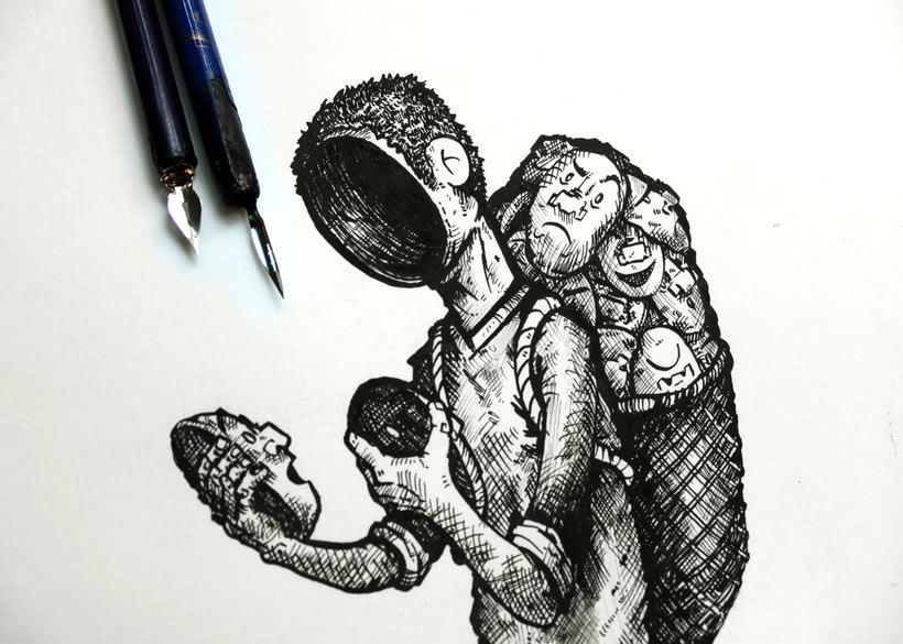 Tinta crítica - Ilustraciones a tinta 10