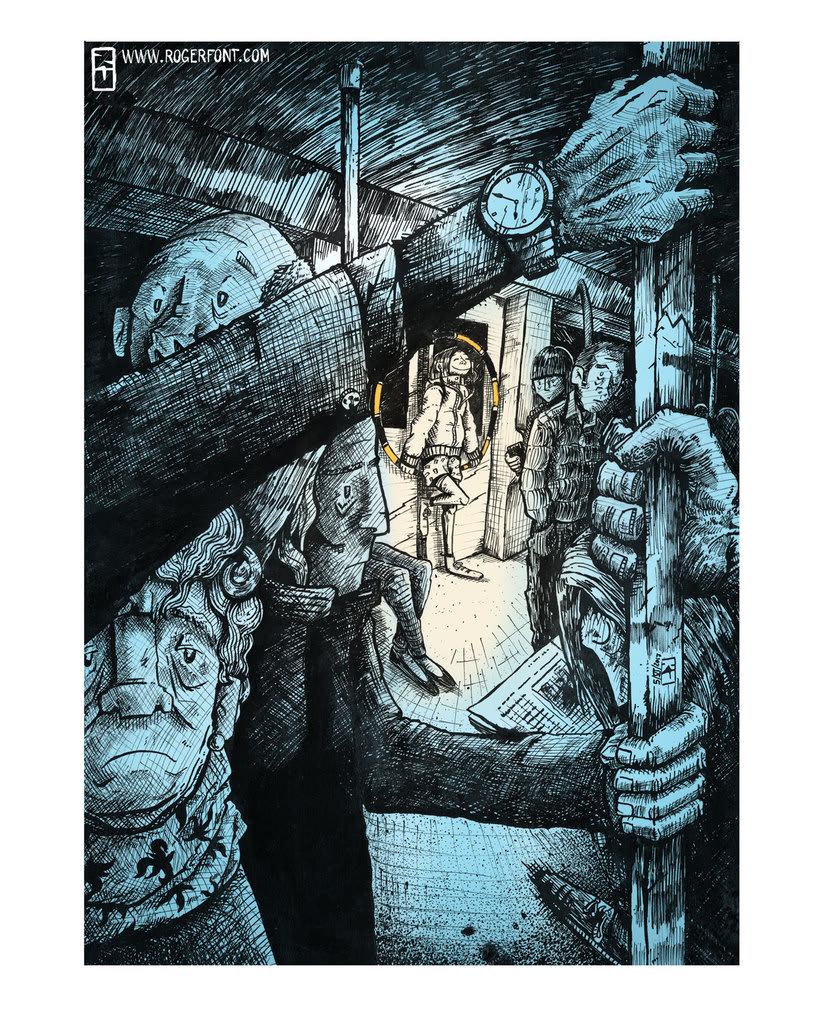 Tinta crítica - Ilustraciones a tinta 11