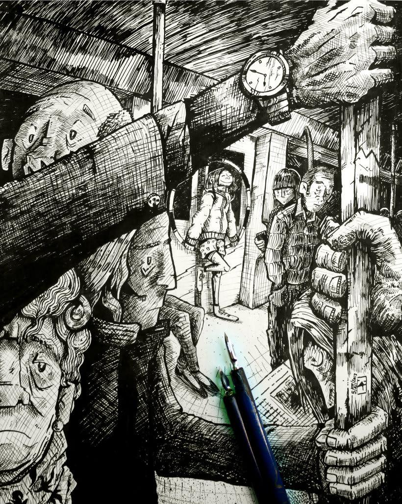 Tinta crítica - Ilustraciones a tinta 12