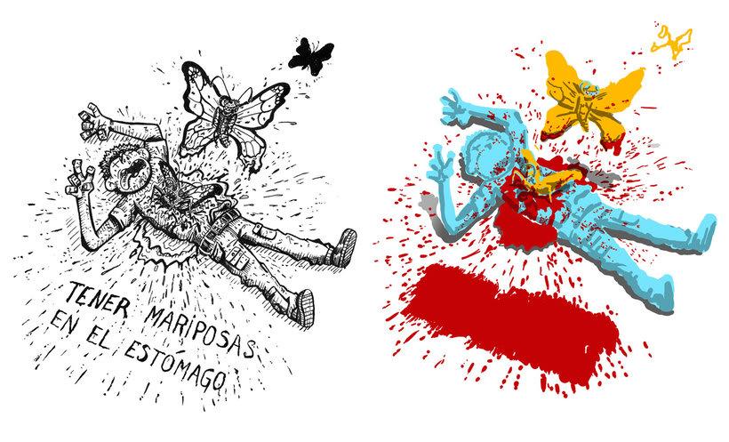 Tinta crítica - Ilustraciones a tinta y color digital 0