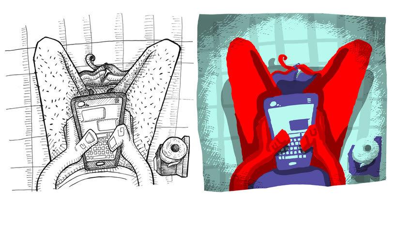 Tinta crítica - Ilustraciones a tinta y color digital 6