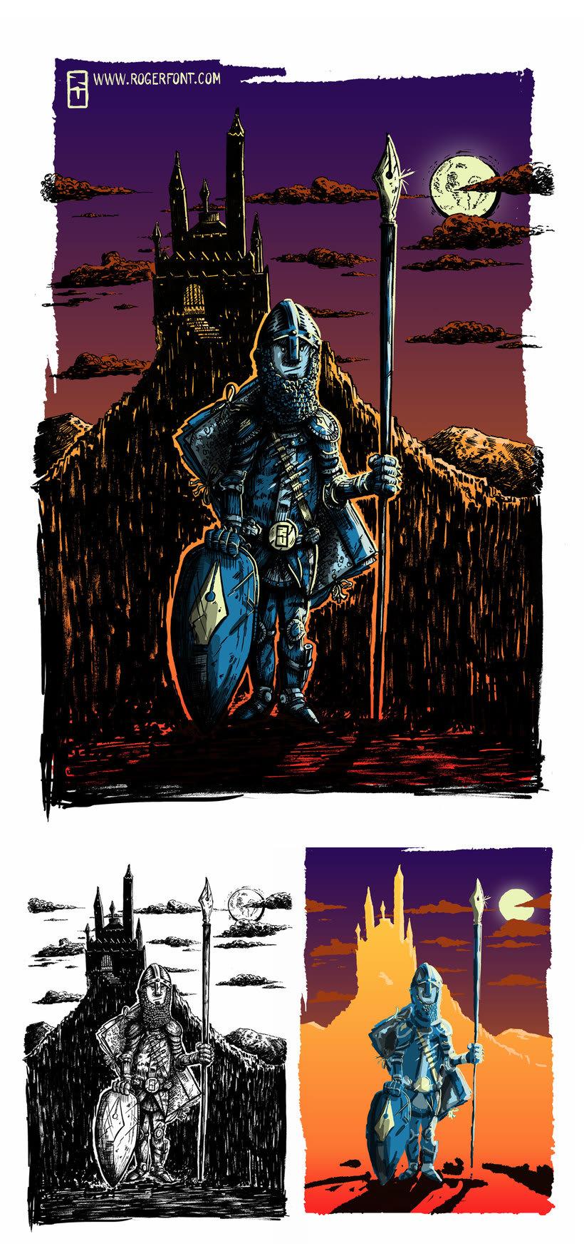 Tinta crítica - Ilustraciones a tinta y color digital 9