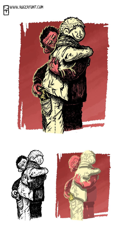 Tinta crítica - Ilustraciones a tinta y color digital 10