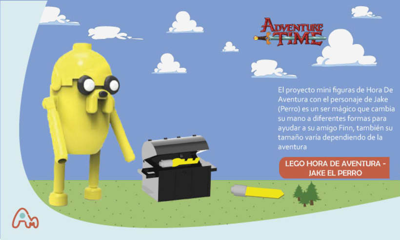 Lego Hora de Aventura  -1