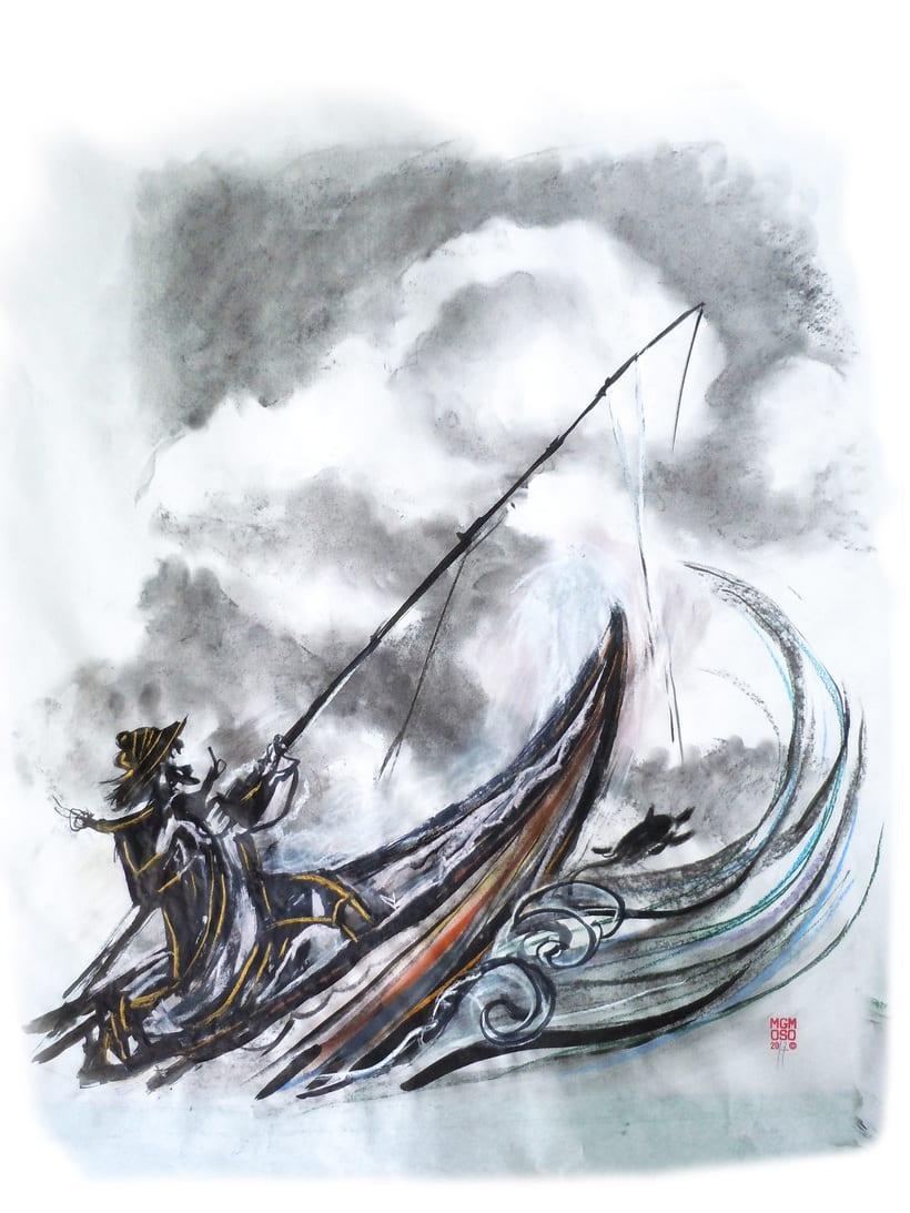 """""""El pescadorcito Urashima"""": Introducción a la ilustración infantil 0"""