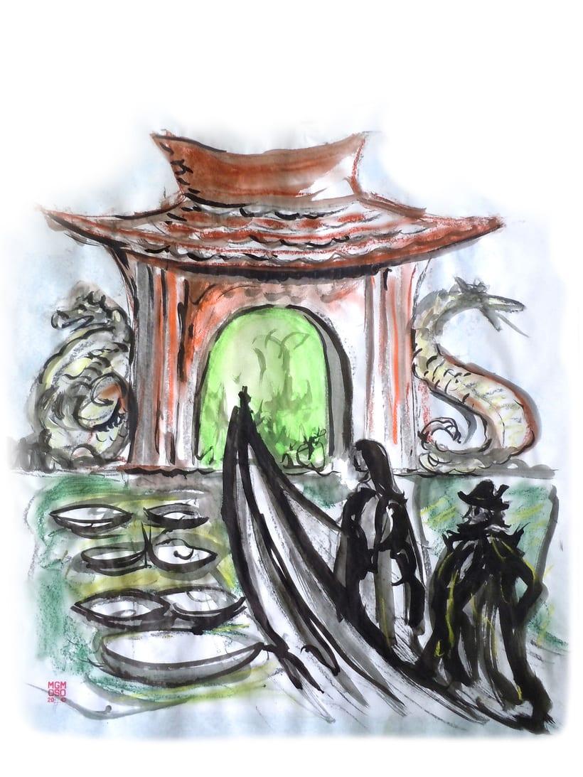 """""""El pescadorcito Urashima"""": Introducción a la ilustración infantil 1"""