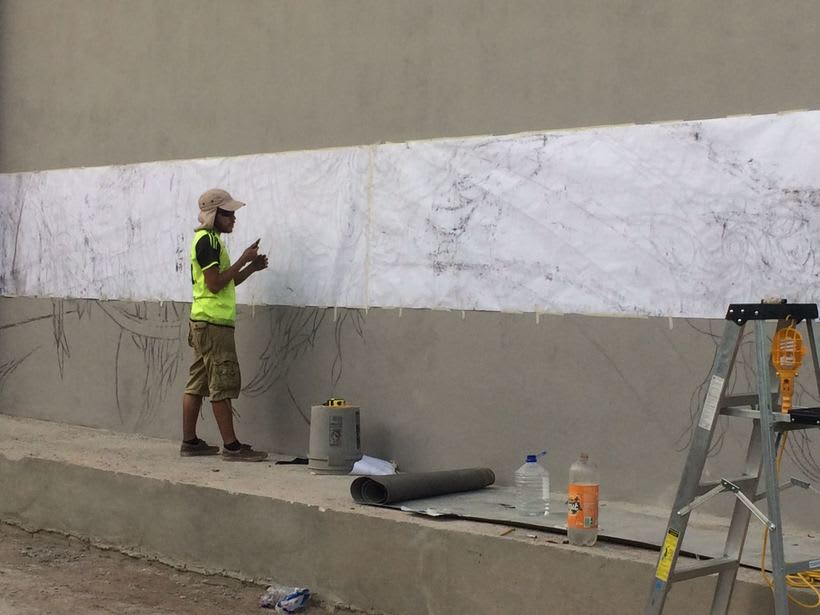 Mural Pampa Argentina,  Costa del Sol Nuevo proyecto 2