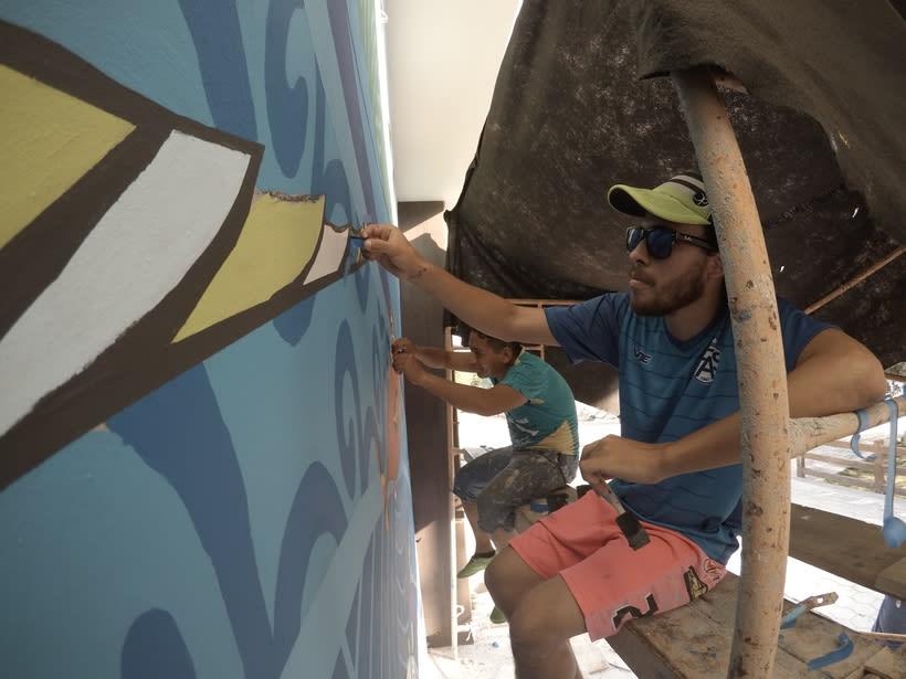 Mural Pampa Argentina,  Costa del Sol Nuevo proyecto 4