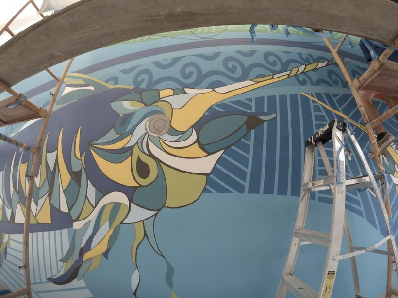 Mural Pampa Argentina,  Costa del Sol Nuevo proyecto 6