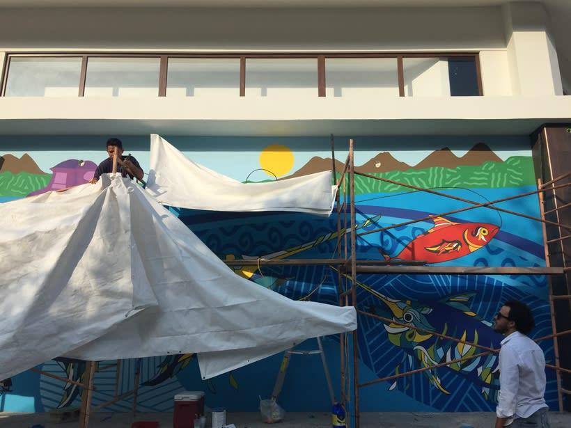 Mural Pampa Argentina,  Costa del Sol Nuevo proyecto 7